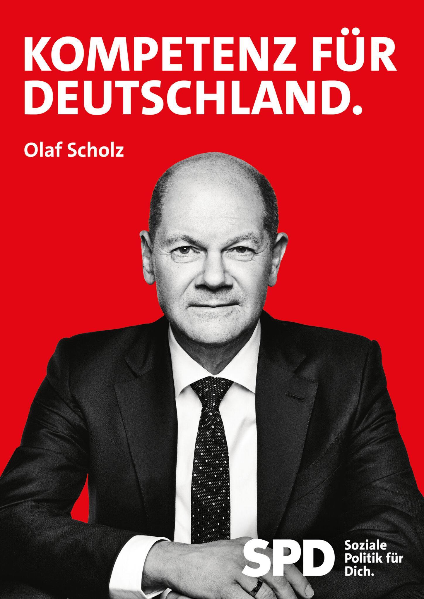 OlafScholz_Plakat_Kompetenz