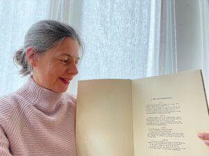 """Foto (Rechte freigeben) Bildunterschrift: """"Familiendruck der Erstausgabe des Grundgesetzes von 23. Mai 1949"""""""